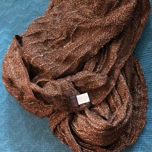 Brown Sparkly scarf